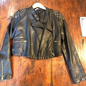 Free People Studded Jacket